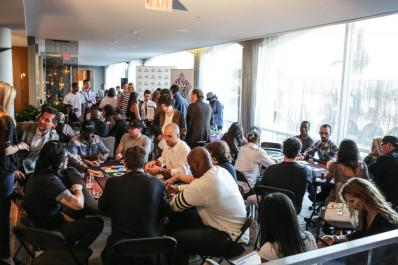 Poker Tournament at the GBK Pre-ESPY Award Lounge 2013