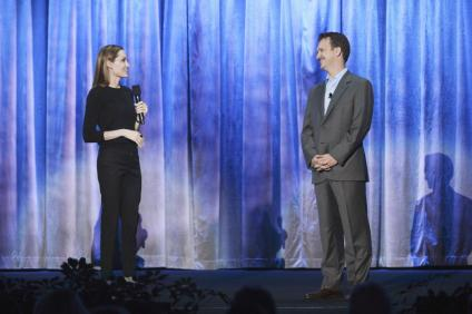 ANGELINA JOLIE, SEAN BAILEY (PRESIDENT, (DISNEY LIVE ACTION PRODUCTION)