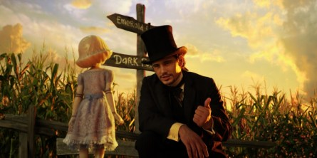 China Girl (Joey King) and James Franco.(Courtesy of Walt Disney Pictures)