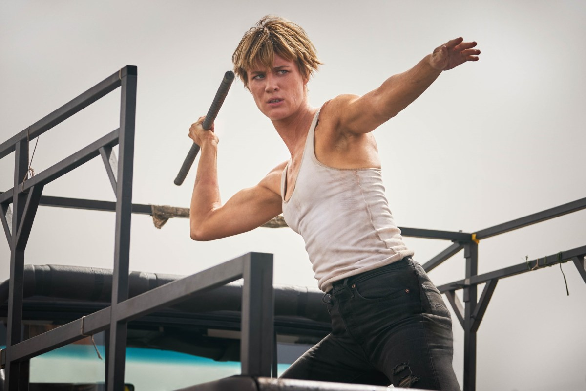 "Mackenzie Davis stars in Skydance Productions and Paramount Pictures' ""TERMINATOR: DARK FATE."""
