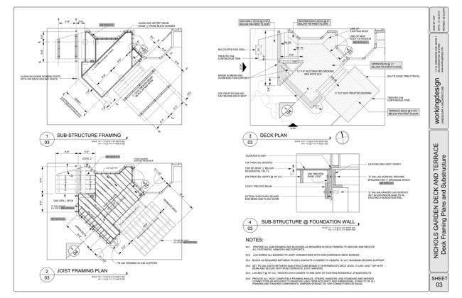 deck framing plan | Fachriframe co