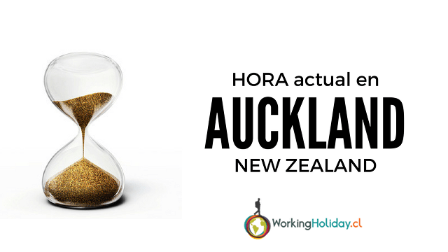hora new zealand auckland nueva zelanda postulación working holiday