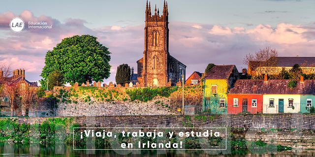 irlanda estudia viaja trabaja inglés