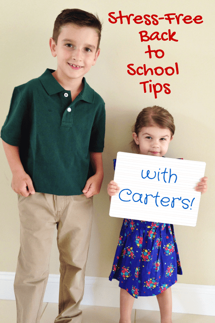 Carter's back to school