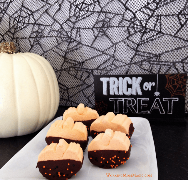 A quick and easy Halloween treat!