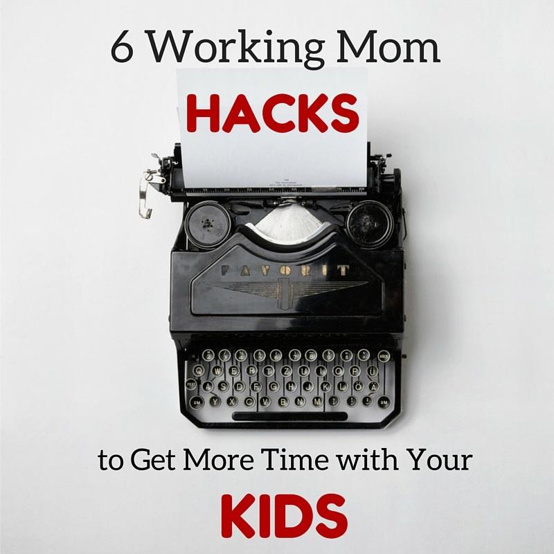 6 Working Mom hacks social media