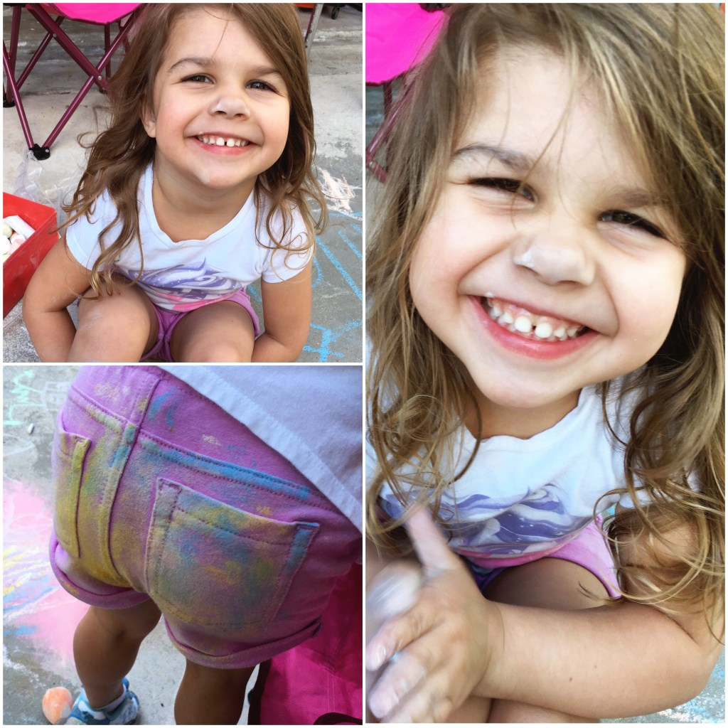 April Family Favorites: Sidewalk Chalk