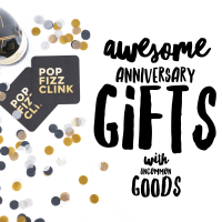 Awesome Anniversary Gifts with Uncommon Goods