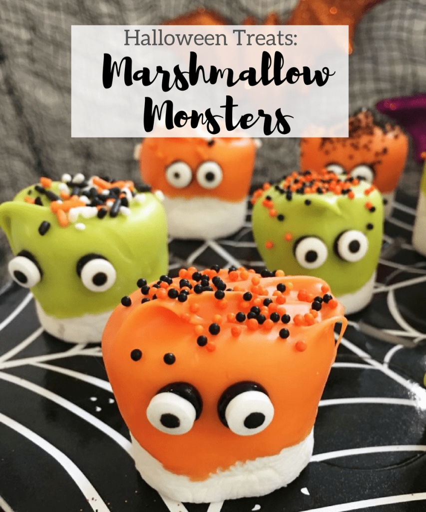 halloween-treats-marshmallow-monsters