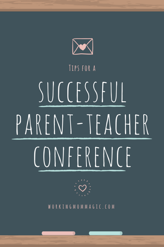 tips-for-a- successful parent teacher conference