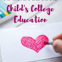The Easy Way to Save for Your Child's College Education