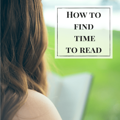 how to find time to read