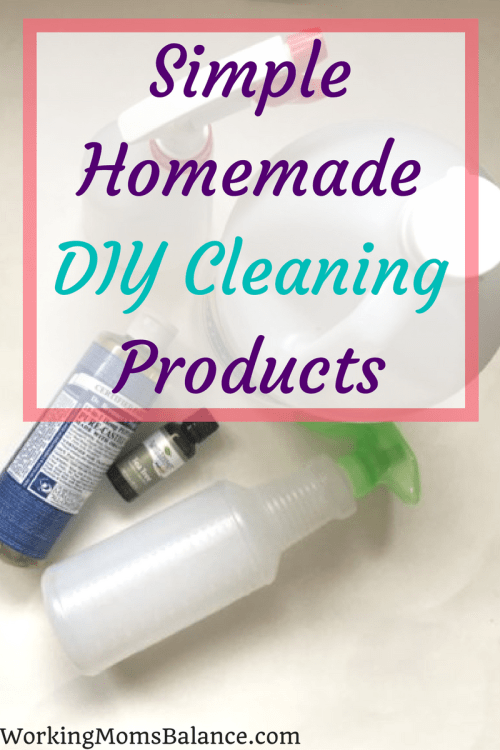 You don't have to spend lots of money on expensive all natural cleaning products that don't work. Here are a couple very simple homemade cleaning products you can use to clean and disinfect the surfaces in your house. DIY cleaning products are definitely the way to go for effective cleaning power and they are budget friendly.