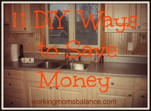 diy ways to save money