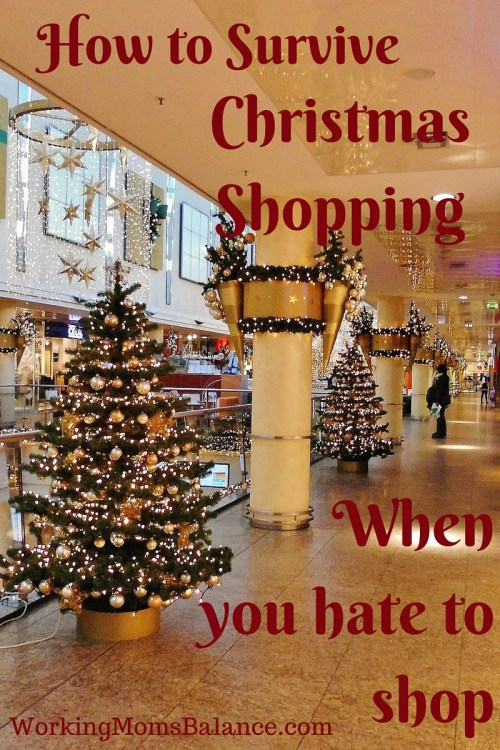 How to Survive Christmas Shopping When You Hate to Shop