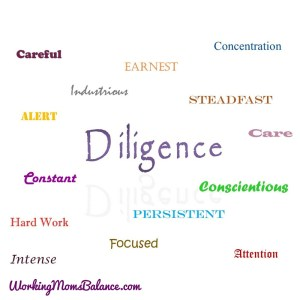 diligence word page
