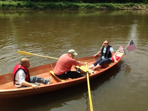 boat christening day