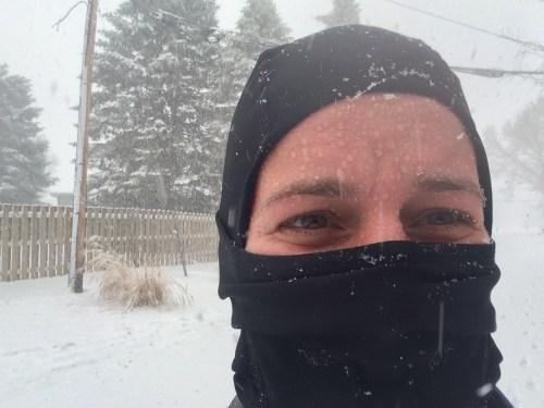 balaclava for winter running