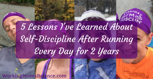 I have been running every day for two years. These past two years have taught me a lot. In this post I share details about my experience and the lessons I've learned about self-discipline when trying to achieve new goals. These lessons might surprise you, but hopefully they motivate and encourage you to go out and choose to do amazing things.