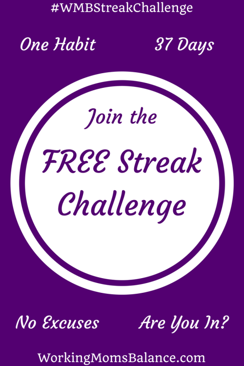 From Memorial Day to the 4th of July we are choosing one new habit to do daily. Join the streak challenge and change your life. #WMBstreakchallenge
