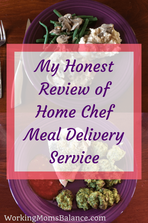 In this post I share my experience with Home Chef meal delivery service. Home Chef review from a working mom.