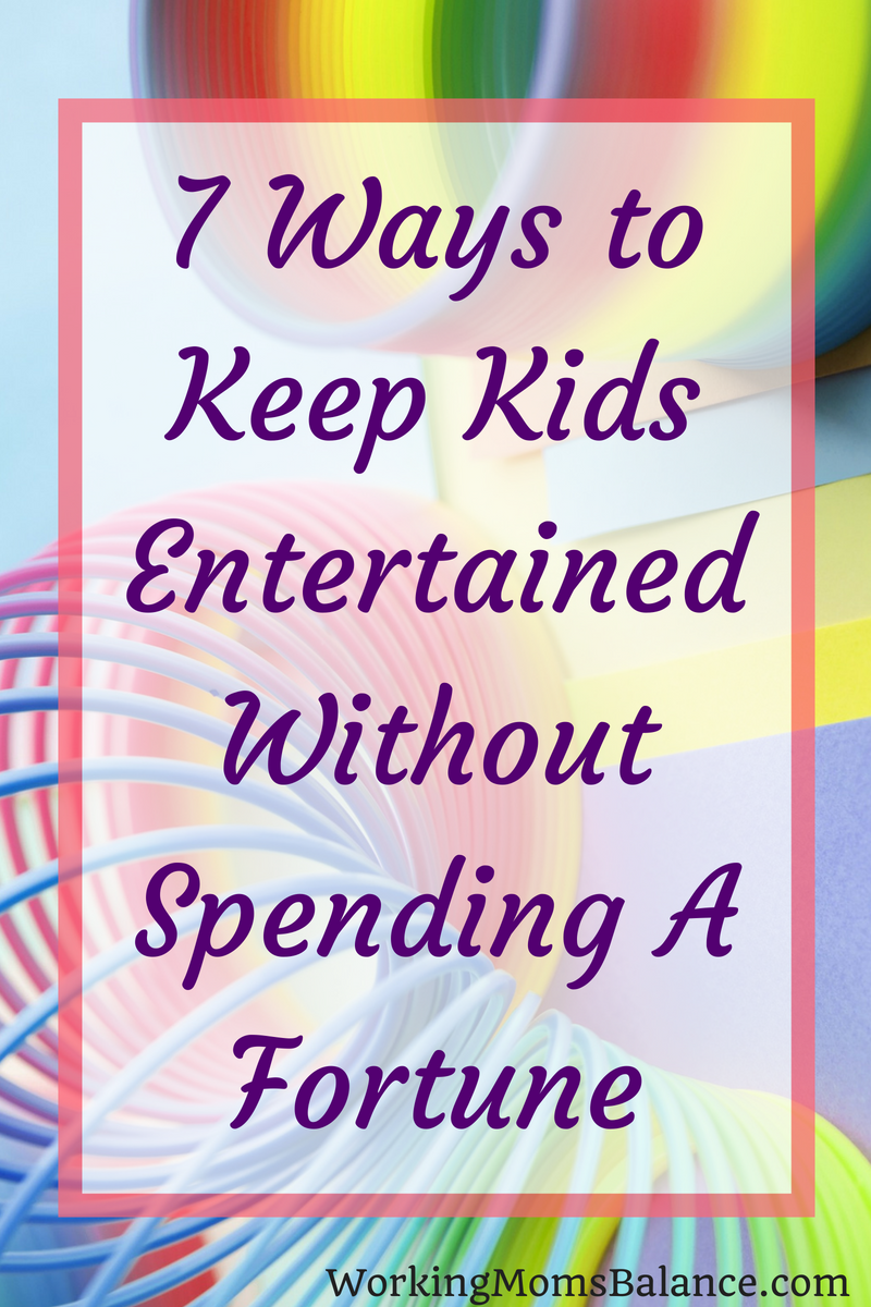 It can be hard to keep kids from complaining about being bored. And activities for kids can be so expensive. This list includes way to entertain kids without breaking the bank. #summeractivities #summerfun #cheapfun #cheapkidsactivities #kids
