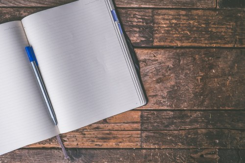 write out your thoughts to manage your anxiety