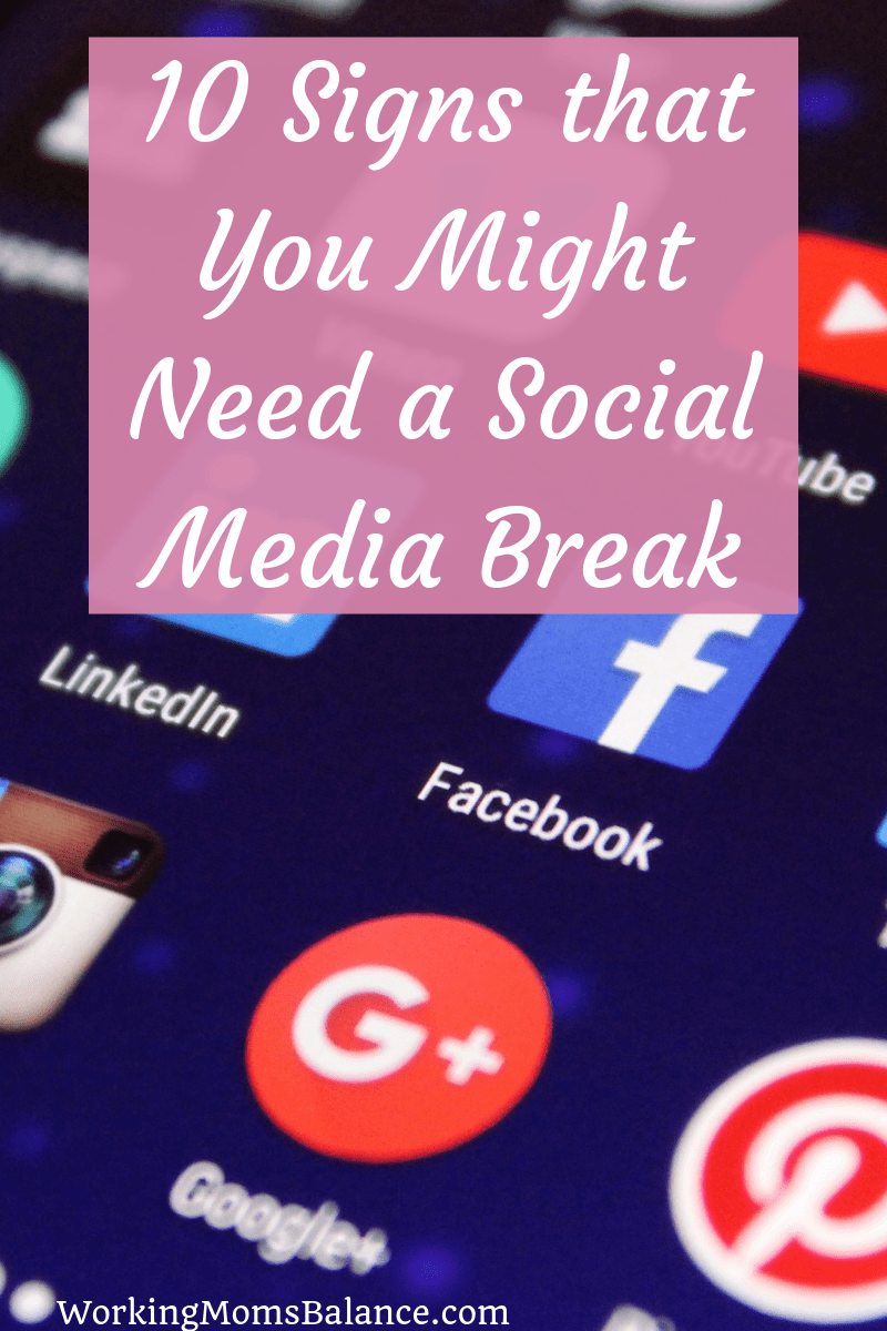 Most people spend a lot of time on social media. But how do you know when or if you should take a break. Could a social media fast be helpful for you? What would it look like to regularly take a social media sabbatical. This post shares 10 Signs that you Might Need a Social Media Break and tips for how to successfully take and enjoy your break.