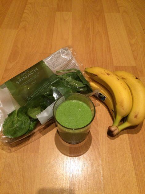 Spinach Green Milkshake