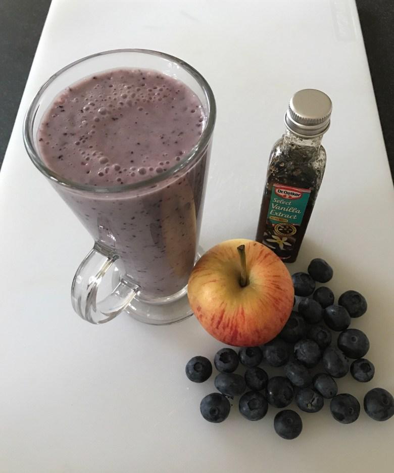 Blueberry Milkshake