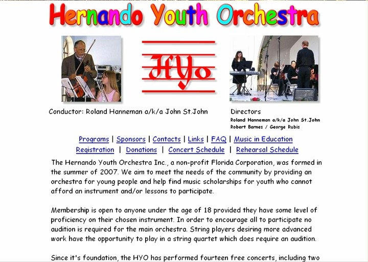 Hernando Youth Orchestra