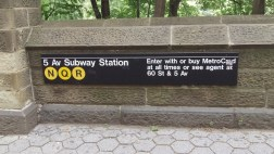 N, Q, R, 5th Ave Subway Station, 59th Street Entrance, Central Park South