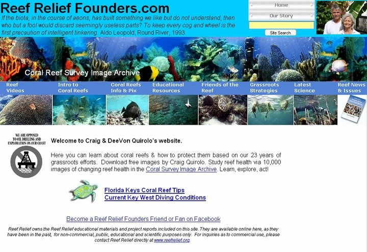 Reef Relief Founders