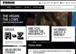 Talk to Frank Home Page for drug advice