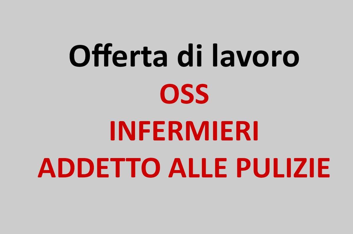 Bologna Offerta Di Lavoro Per Oss Infermiere Addetto Alle