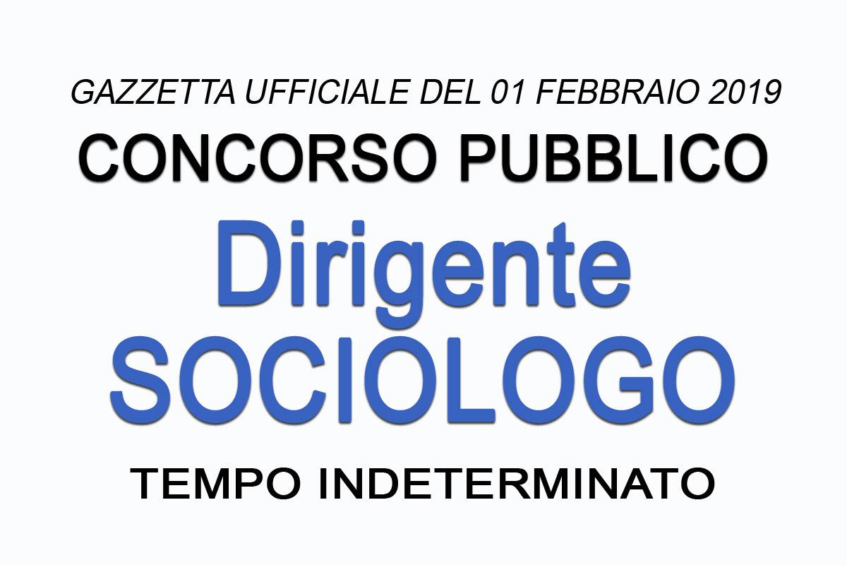 Concorso Per Dirigente Sociologo Parma Riapertura Termini