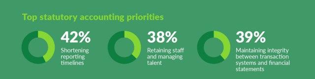Top statutory accounting priorities