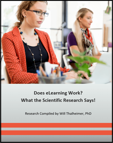 Major Research Review on eLearning Effectiveness – Work
