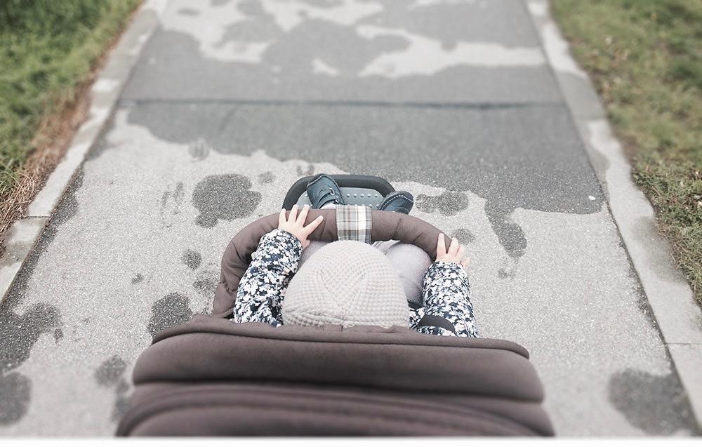 Auf dem Weg zur Tagesmutter