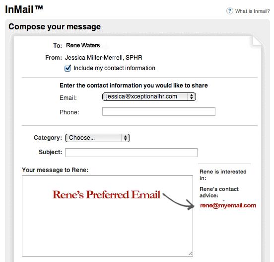 linkedin-inmail-personal-address