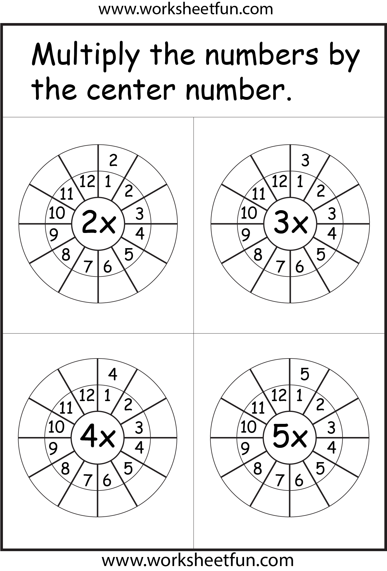 Times Table Worksheets 1 2 3 4 5 6 7 8 9 10 11 12 13 14 15 16 17 18 19 And
