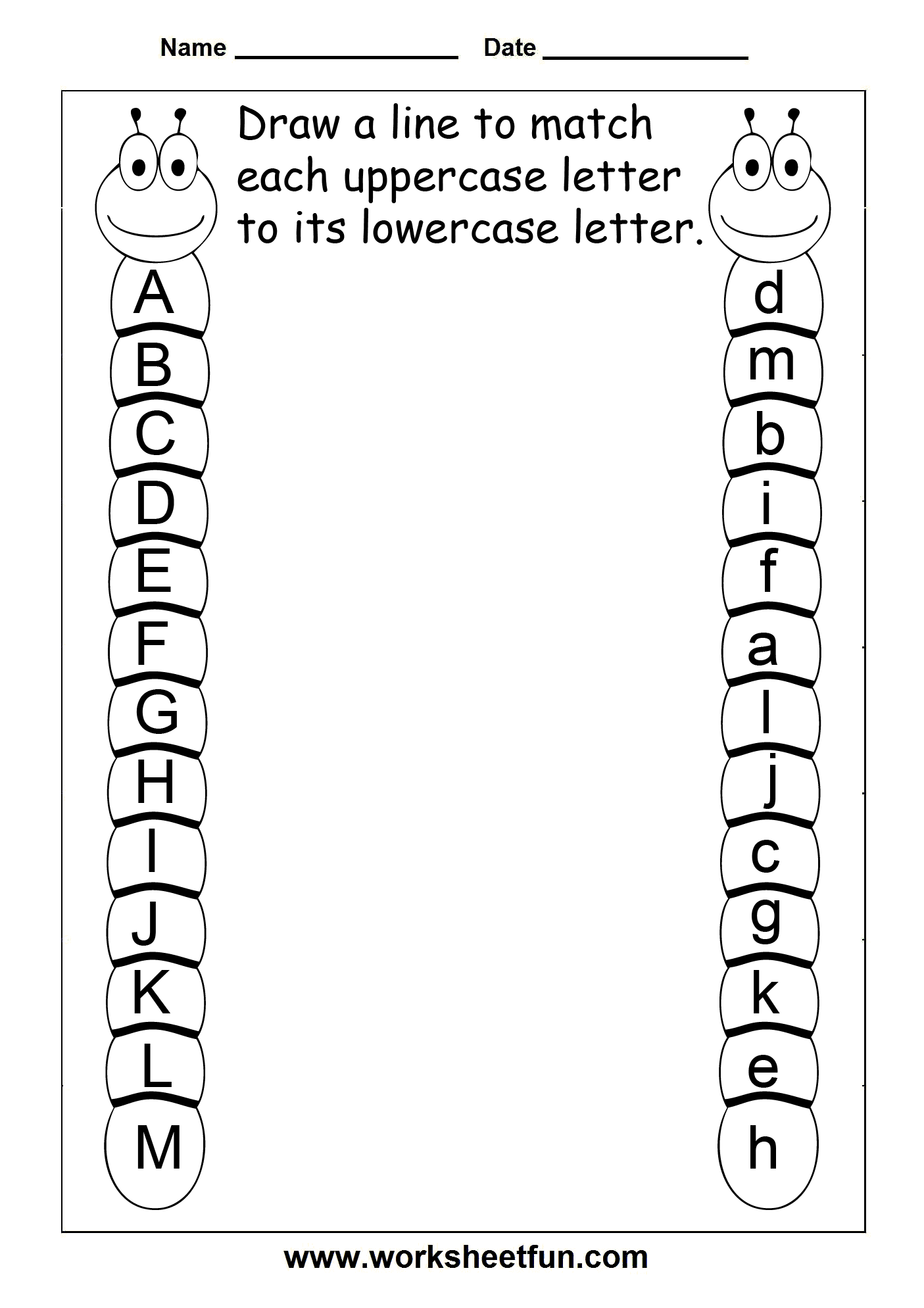 Printable Files For Tracing Upper And Lowercase