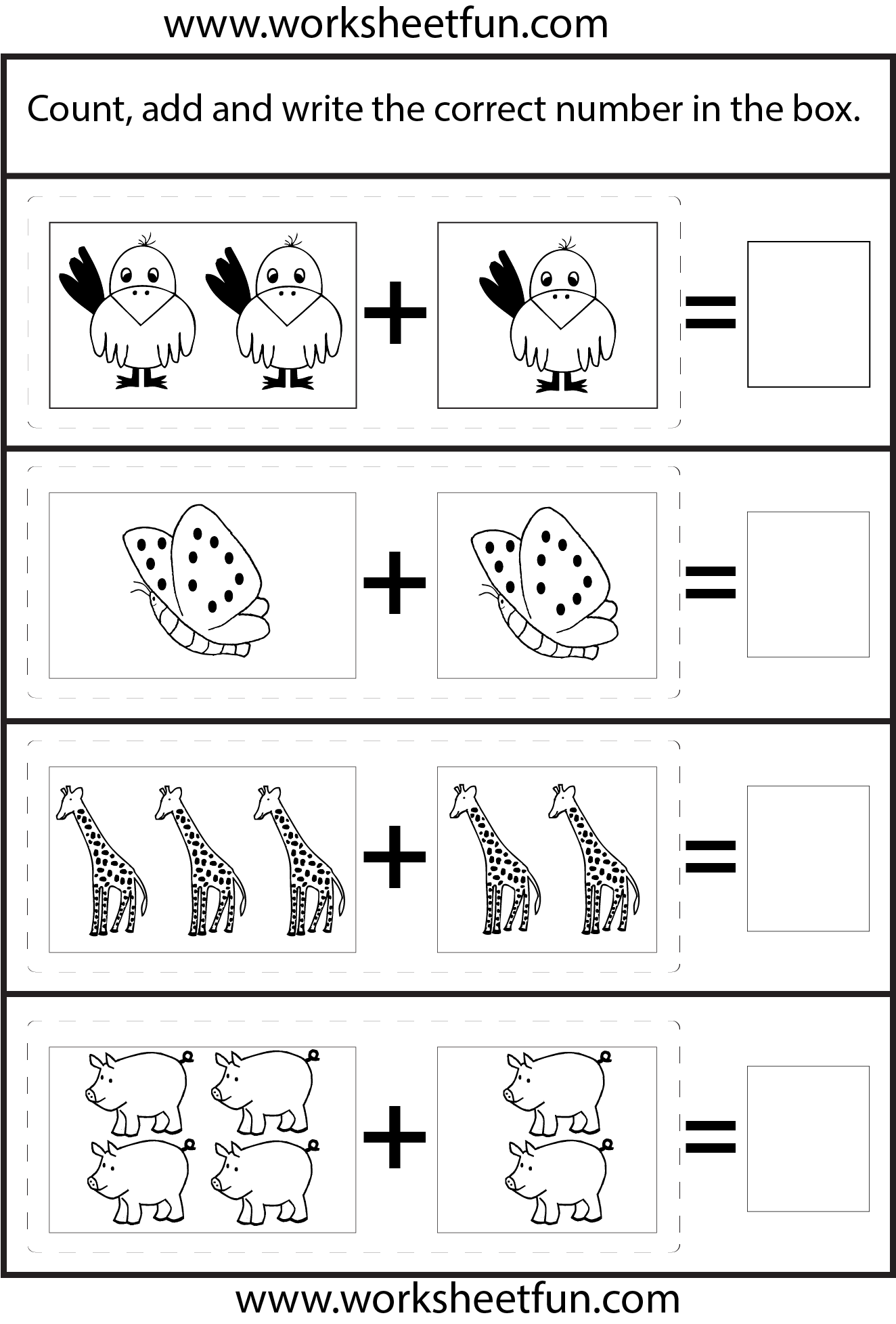 Decimal Addition No Regrouping 6 Worksheets Free