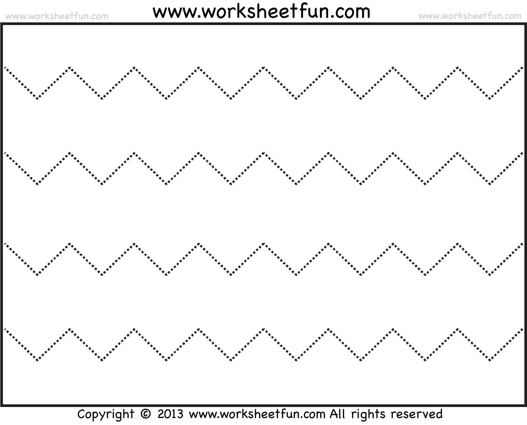 Worksheet Trace A Rhombus For Preschoolers