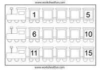 Missing Numbers 1 15 3 Worksheets Free Printable Worksheets Worksheetfun
