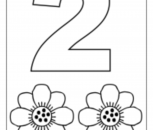 Number Coloring Pages   Worksheets Free Printable