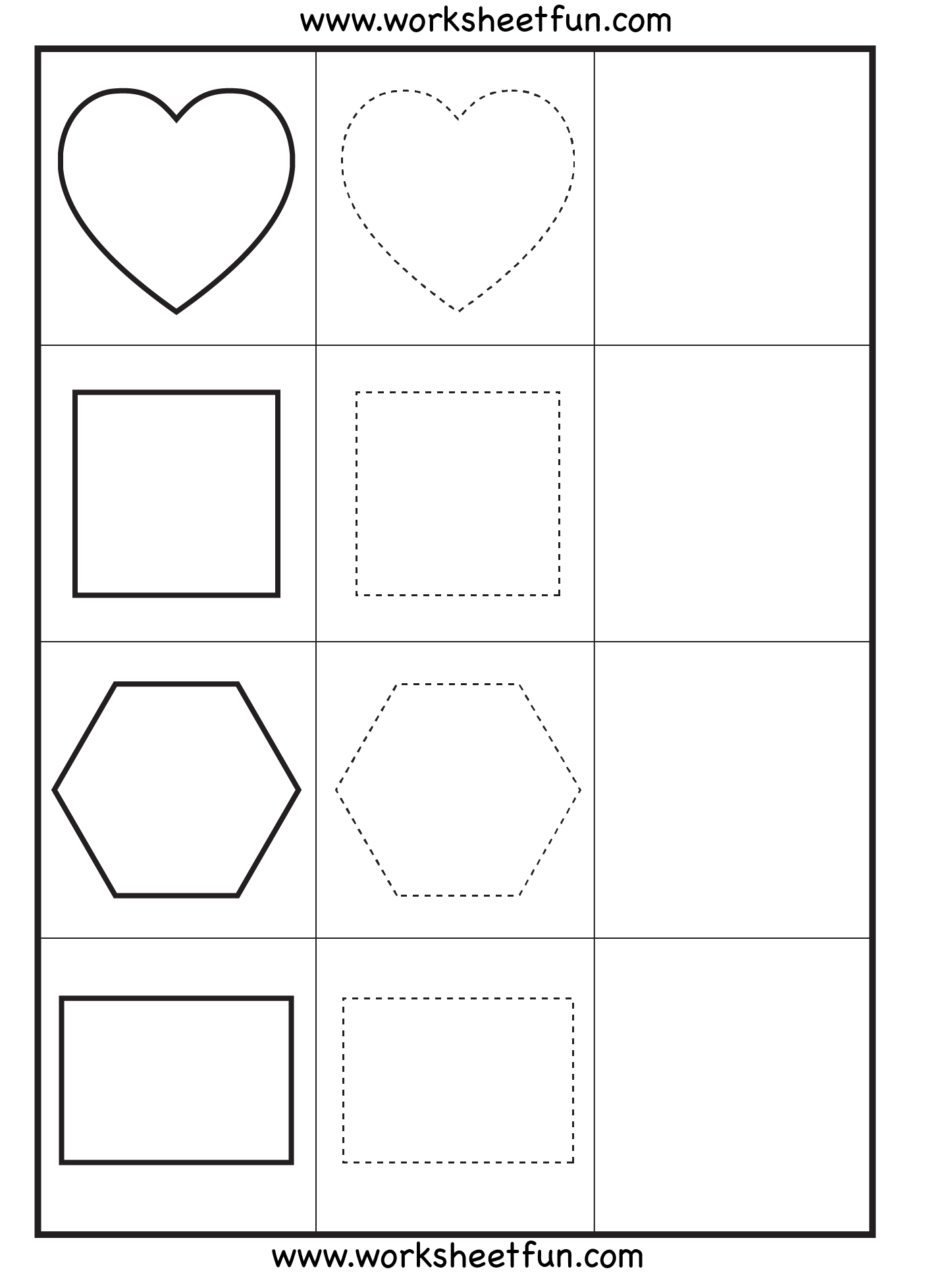 Tracing Worksheets And Worksheets