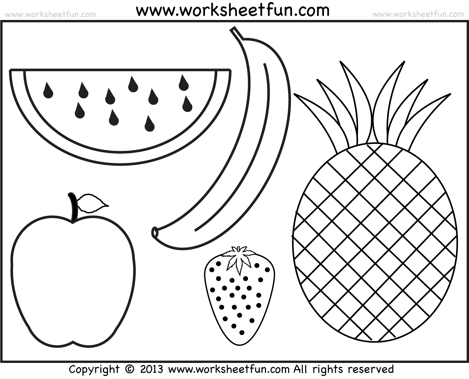 Free Printable Halloween Worksheets For Preschool