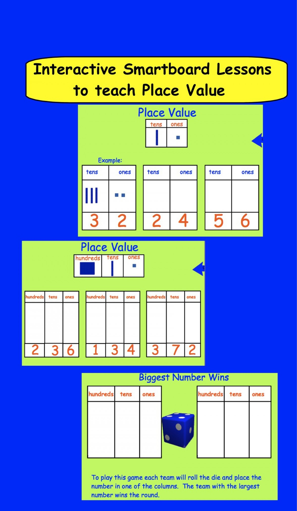 Smartboard Addition Games Worksheets