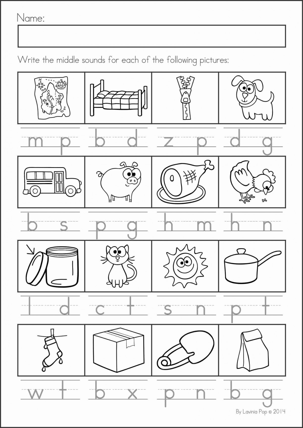 Addition Revierw Kindergarten Worksheets